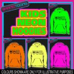 EAT SLEEP BANG TIDY KEITH LEMON  NEON  ELECTRIC KIDS HOODIE HOODY